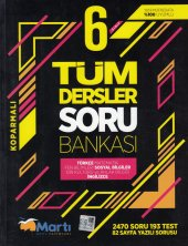 Martı Yayınları 6. Sınıf Tüm Dersler Soru Bankası...