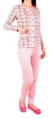 Kadın Pijama Takımı Uz Kol