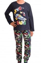Erkek Çocuk Pijama Takımı Uz Kol
