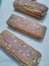Helaliye Glutensiz Karabuğday Ekmeği 100 Greçka Sütlü Ekşi Mayalı Ayçiçekli Çörekotlu Ekmek 2000 G