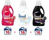 Perwoll Renkli Beyaz Siyah Sıvı Çamaşır Deterjanı 1 Lt X3