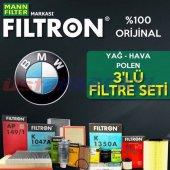 Bmw 3.16i F30 Filtron Karbonlu Filtre Bakım Seti 2...