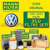 Vw Polo 1.4 Mann Filter Filtre Bakım Seti (2001 20...