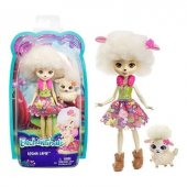 Mattel Enchantimals Bebekler Lorna Lamb & Flag Fnh...