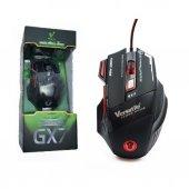 Oyuncu Mouse Versatile Gx7 3200 Dpi 3 Led Işıklı Oyuncu Gaming Mo