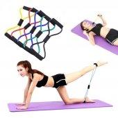 Nisport Direnç Lastiği Plates Ve Egzersiz Spor Aleti