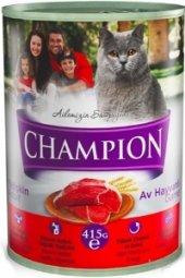Champion Av Hayvanlı Kedi Konservesi 12 Adet X 415 Gr