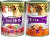 Champion Karışık Köpek Konservesi 24 Adet X 415 Gr