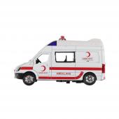 Birlik Işıklı Metal Çek Bırak Ambulans Fy5058a 12d...