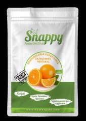 Snappy Dondurularak Kurutulmuş Dilimlenmiş Portakal