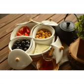 Kaliteli Kahvaltılık Seti Uygun Fiyat Bambu Ağacı
