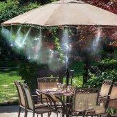 Açık Alan Bahçe Veranda Sulama Çardak Avlu Serinletici Sistemi