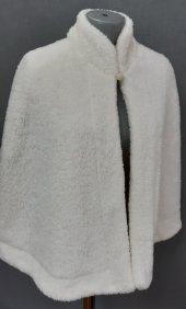Peluş Kürk Etol Şal Pelerin Uzun Çift Kat 70cm Boy 2 Mt.50cm Çapı