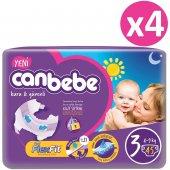 Canbebe Ekonomik Bebek Bezi No 3 Midi 180 Adet (4 9kg) 45*4