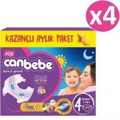 Canbebe Fırsat Paketi Bebek Bezi No 4 Maxi 240 Adet (7 14kg) 60*4