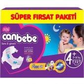 Canbebe Süper Fırsat Bebek Bezi No 4+ Maxi Plus 72 Adet (9 16kg)